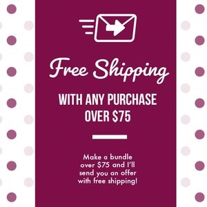 FREE Shipping on purchases over $75